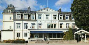 Secondhandstore i Ed håller till i gamla Hotel Carl XII